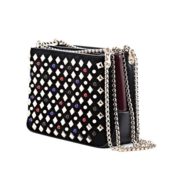 Christian Louboutin Handbags - New Christian Louboutin Triloubi Small Spiked Bag